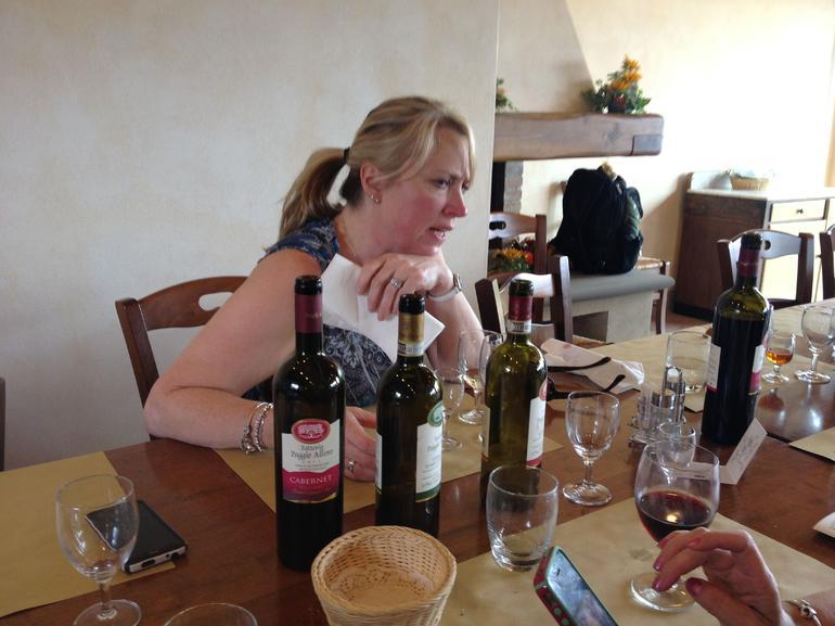Three bottles of wine - Florence