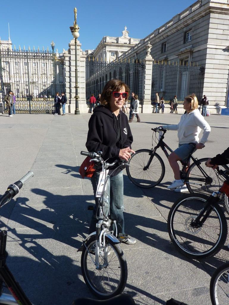 Tour-guid from the Netherlands - Madrid