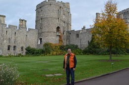 Me near the castle entrance , Marc R - November 2013