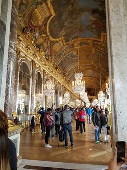 The Hall of Mirrors in Versailles. , Roma S - October 2016