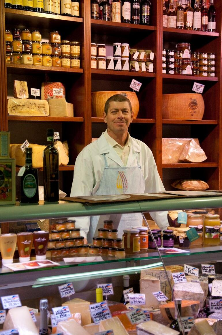 A proud business owner - Florence