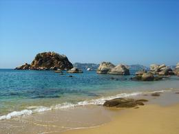 Gorgeous beaches in Acapulco Bay , Leah - May 2011