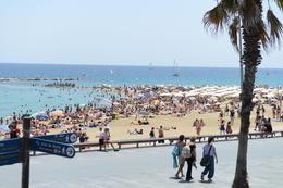 The beautiful Barceloneta, Jeff - September 2013