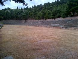 Stadium from 4th c. BC , Stephen W - July 2013