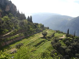 Panoramic view of Delphi , Thet Su N - May 2011