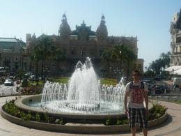 Fountains outside Monaco Casino, AlexB - June 2012