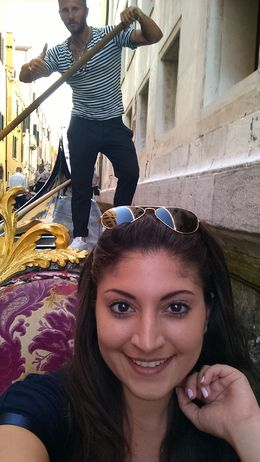 Gondola Ride in Venice , Alan S - July 2015