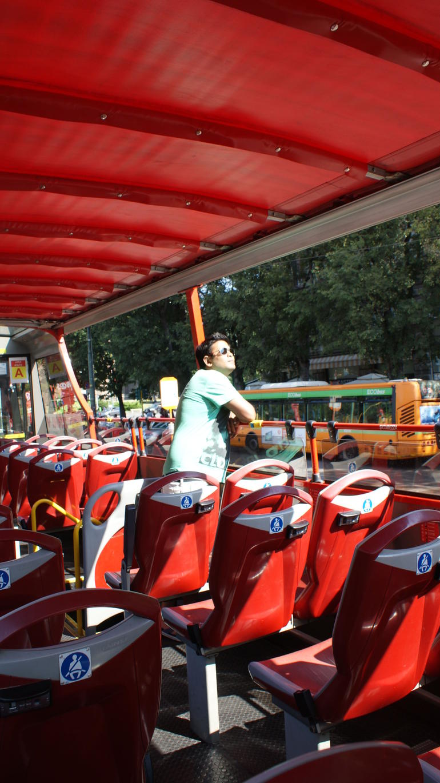 Hop-on hop-off bus - Milan
