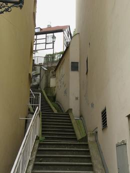 Narrow street, Aleksandra B - July 2009