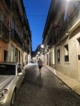 Bairro Alto Street - July 2010