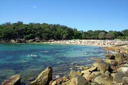 Manly Beach, Sydney (snorkeling) - December 2011