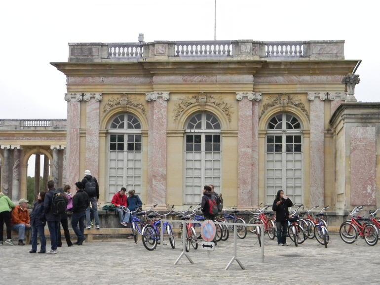 Outside the Petite Trianon - Paris