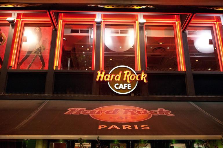 Skip the Line: Hard Rock Cafe Paris - Paris