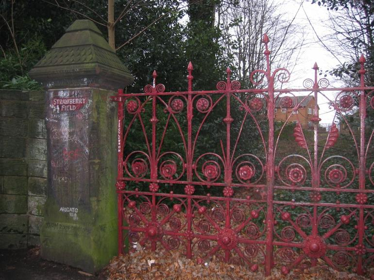 Strawberry Fields Gate - London