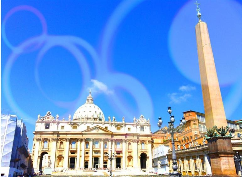 The St. Peter's Basilica Church - Rome