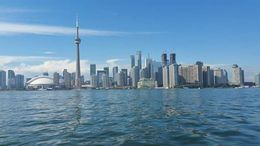 No people as toronto is beautiful enough by itself! , Joanne H - August 2016