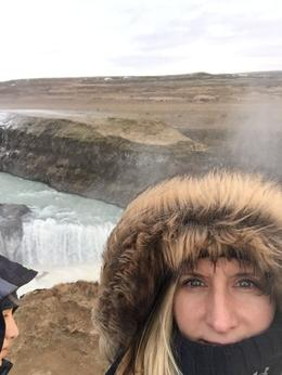 me at the falls : , Kim C - January 2017