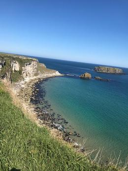 The walk to the Carrick-a-rede bridge. , cferchaw - May 2017
