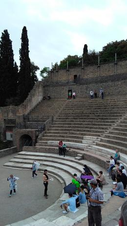 The Ampitheater in Pompeii , Stephen G - July 2017