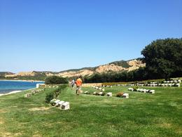 One of the coastal cemeteries, resting place of the Australian and New Zealand soldiers who died in battle - September 2013