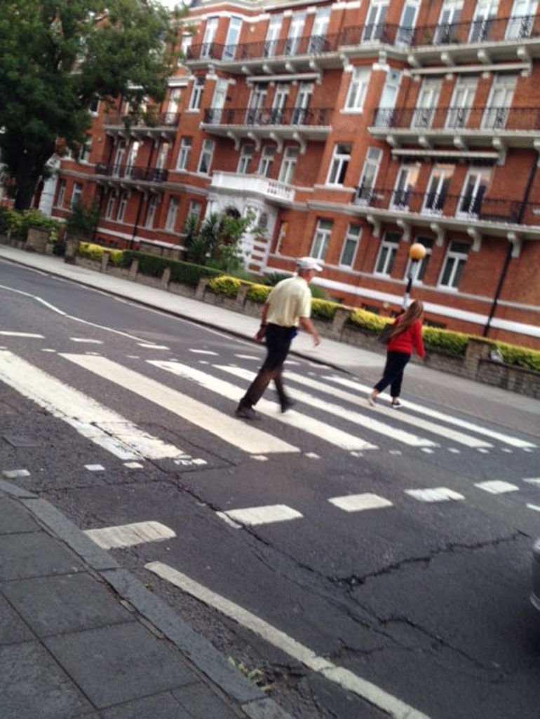 Abby Road..THats me!!!