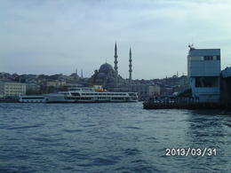 Blick auf die Süleymaniye-Moschee , Monika J - April 2013