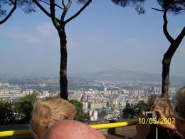 A view of the city from atop the hill on the way to the Capo Posilipo., James H - October 2007