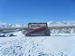 Cold up here but warm down at Devils Golf Course, Badwater, Artist's Pallet & Zabrinski's Point, Idham R - December 2008