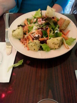 Salad was so good, I took it's picture! , rickroma54 - October 2014