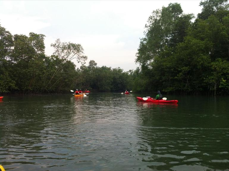Kayaking on Pulau Ubin - Singapore