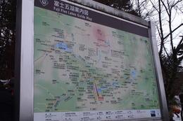 Map of Mt Fuji area , Steve Lee - January 2014