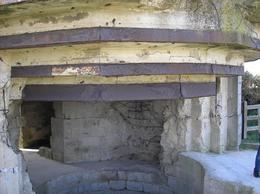 Front of the bunker., John J - October 2007