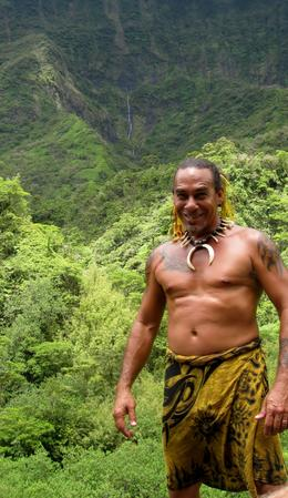 The guide is Tahitian native His zeal for his island and his knowledge of the culture, flora, and fauna of his home inspired us and was one of the highlights of our time traveling in the in the..., Stuart N - December 2013