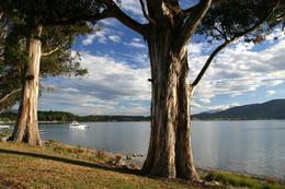 Te Anau Lake, South Island, New Zealand - June 2011