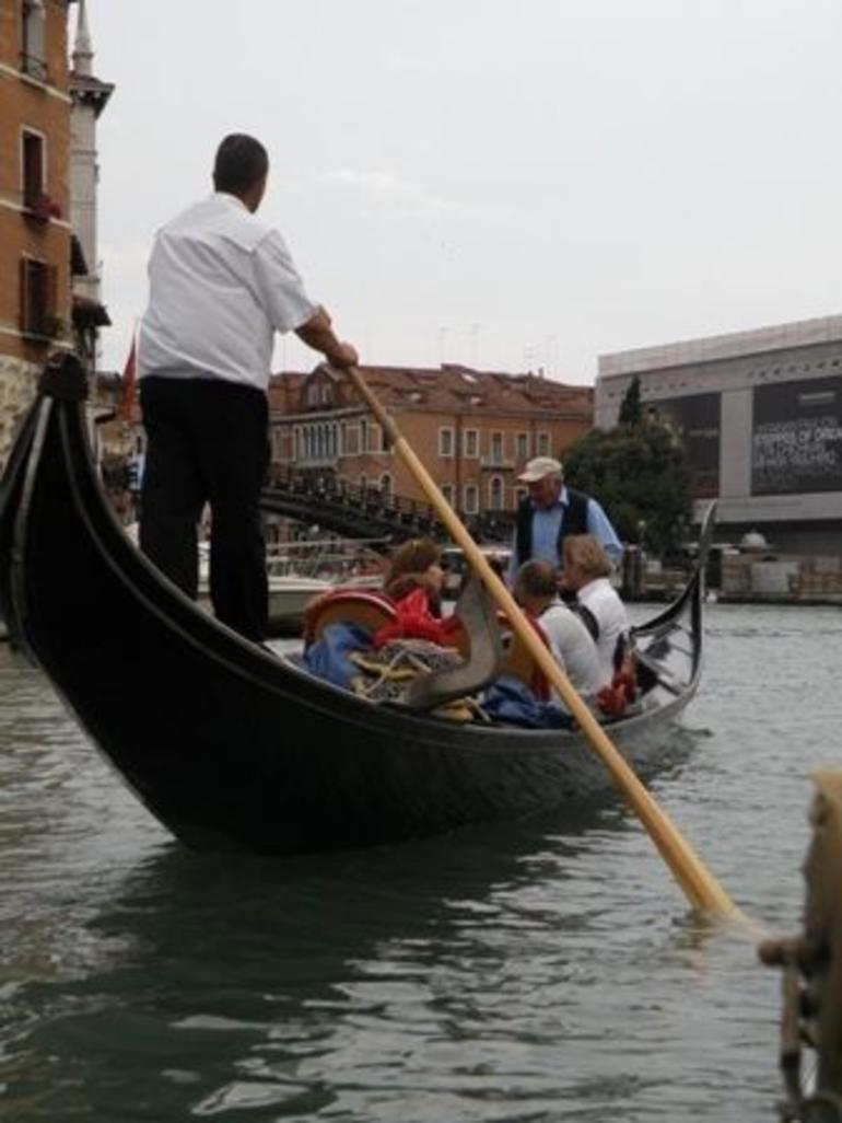 The Gondalier - Venice