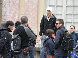 Very fun guy who really enjoyed telling us the history of Versailles. , Connie S S - May 2012
