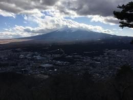 Mr. Fuji from Mt. Kachikachi observation deck , Marius G - February 2017