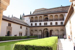 Alhambra courtyard, SCV - December 2012