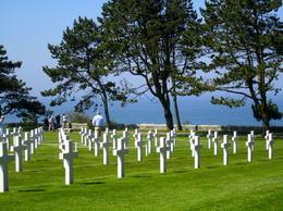 American Cemetery overlooking Omaha Beach , Marisa L - May 2012
