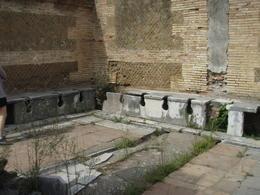 Public toilets Roman style! , DanG - October 2011