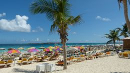 Orient beach, St Martin (French part of island) , Rosemary G - February 2015