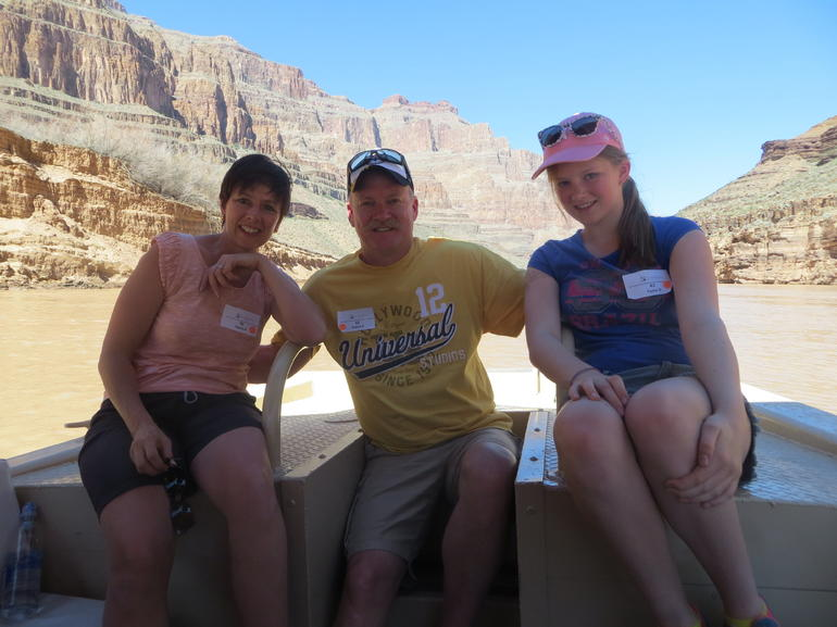 Floating on the mightly Colorado River - Las Vegas