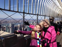 We loved being on top of New York City. , zaritas - April 2014