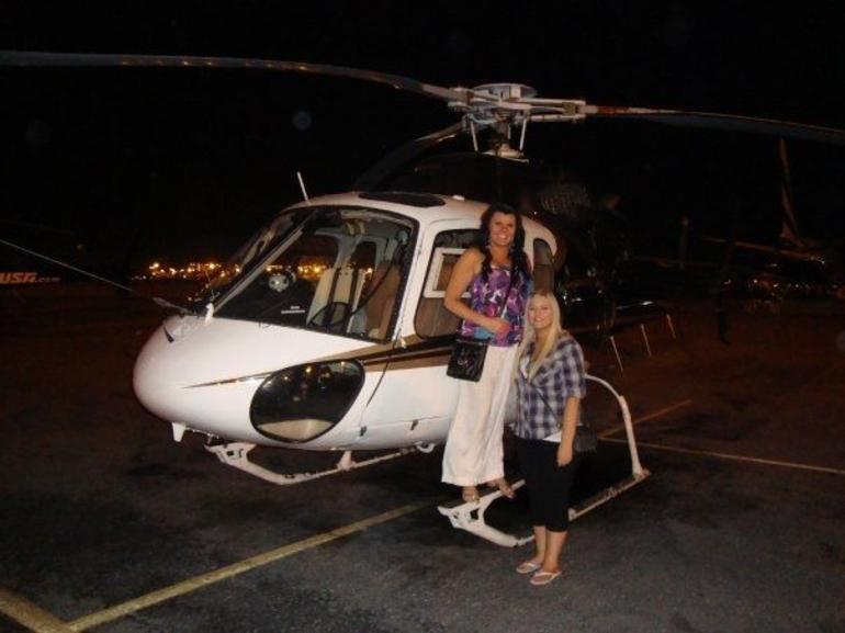 Helicopter at Night Strip Tour - Las Vegas