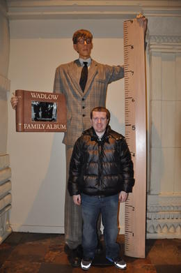 The tallest person in the world. , Chris Hord - February 2014