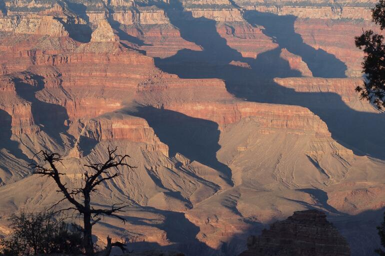 Late afternoon at the canyon - Las Vegas