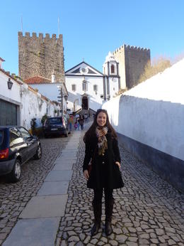 Arriving in the beautifully preserved town of Obidos. Best part of this tour! There needs to be more time here. It's enchanting! , Claudia A - April 2014