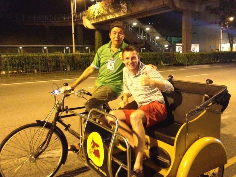 Singapore's Chinatown Trishaw Night Tour - Singapore