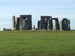 Around the circle of Stonehenge. , Sharon M - April 2016