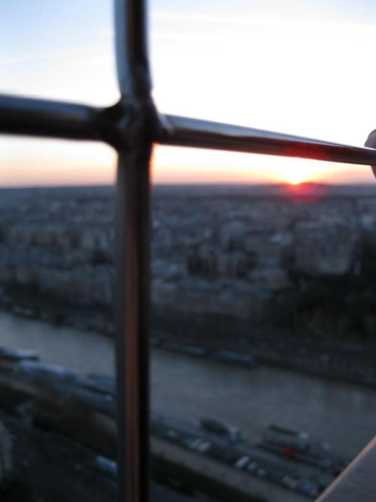 sunset view - Paris